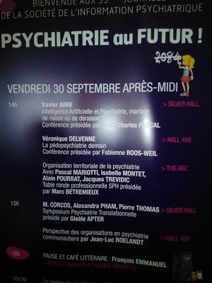 affiche psychiatrie du futur
