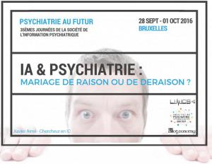conference IA et psychiatrie Bruxelles
